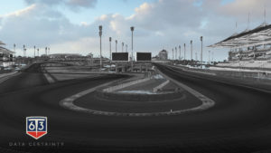 Pointcloud of Yas Marina Formula 1 track