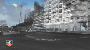 Pointcloud of Monaco Formula 1 track