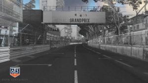 Pointcloud of Monaco Formula 1 track